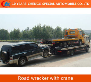 2016 New Tow Crane Road Rescue Wrecker Truck pictures & photos