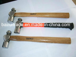 1lb Ball Pein Hammer with Wooden Fibre Glass Handle pictures & photos