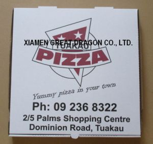 Locking Corners Pizza Box for Stability and Durability (PB160594) pictures & photos