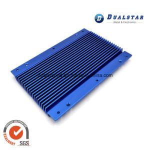 Blue Powder Coated Aluminium Profile for Sliding Door