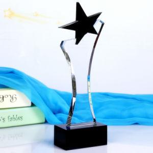 Popular New Design Award Souvenir Gift Black Crystal Trophy pictures & photos