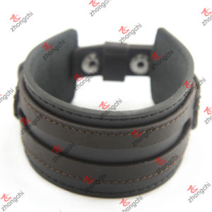 Double Leather Bracelet for Unisex Fashion Bracelet Jewelry (LB151111) pictures & photos