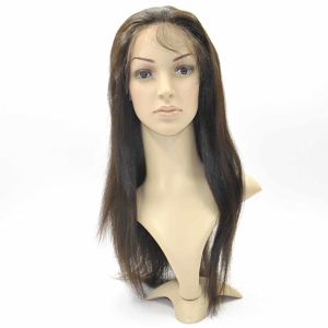 Brazilian Virgin Hair Front Lace Wigs (18Inch-Straight) pictures & photos