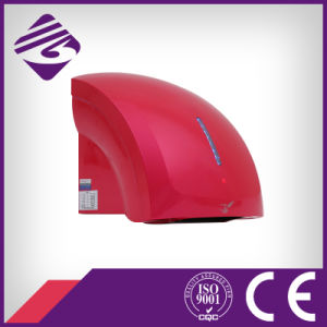Red Wall Mounted Small ABS Hotel Automatic Hand Dryer (JN70904C) pictures & photos
