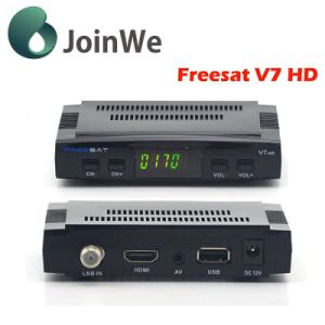 Freesat V7 DVB-S2 Satellite Receiver FTA Set Top Box 32MB pictures & photos