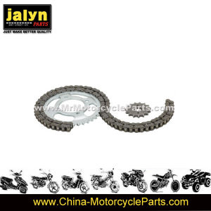 Motorcycle Parts Motorcycle Sprocket Kit and Chain Fits pictures & photos