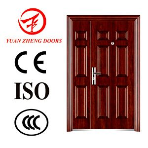 Steel Safety Double Door Made in China pictures & photos