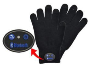 Wearable Electronics Microphone Bluetooth Gloves