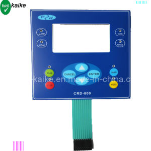 Rim Embossed Key Membrane Switch Keypad pictures & photos
