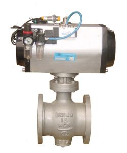 Pneumatic Operated Segment Ball Valve pictures & photos