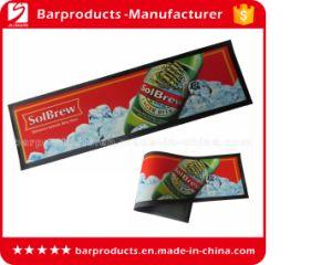 Custom Barware Red Color Nitrile Rubber Bar Runner