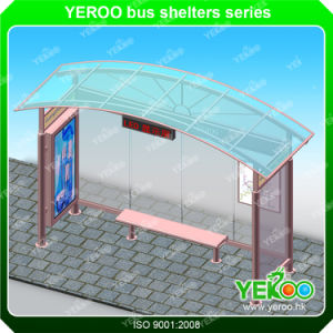 Hot Sales Biollboard Outdoor Advertising Bus Stop Shelter pictures & photos