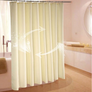 Waterproof Jacquard Shower Curtain pictures & photos