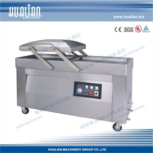 Hualian 2015 Double Vacuum Packing Machine with Gas (HVC-610S/2A-G) pictures & photos