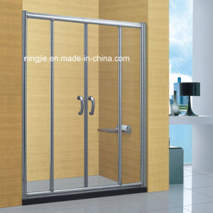Hotel Sanitary Ware Aluminum Bathroom Shower Screen (A-895) pictures & photos