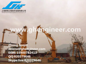 Immidiate Available 100t10m Crane Offshore Platform Crane Rig Crane pictures & photos