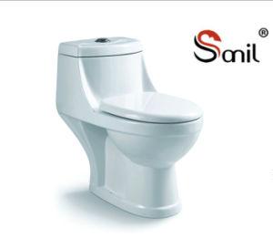 One Piece Porcelain Washdown Wc Toilet (S7558) pictures & photos