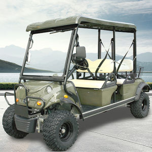 Electric Hunting Buggy Utility Cart with Rear Luggage Basket pictures & photos