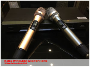 New Design Wireless Microphone Karaoke Player pictures & photos