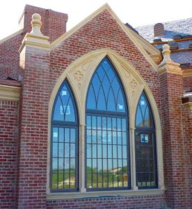 Cathedral Arch Curtainwall Window (BHA-CWA06) pictures & photos