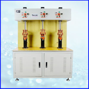 3-Station Induction Brazing Machine for Kettle Heating Element pictures & photos