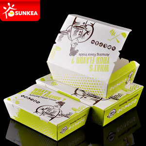 Disposable Insulated Paper Chinese Hot Food Box pictures & photos