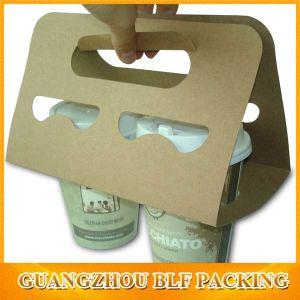 Brwon Kraft Paper Cup Holder Bag (BLF-PB349) pictures & photos