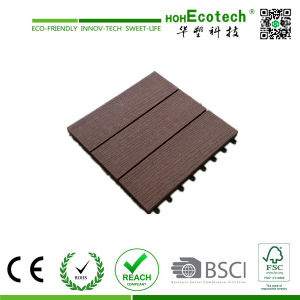 New Design 100% Recycled Composite Material WPC Tile Flooring with Low Price pictures & photos