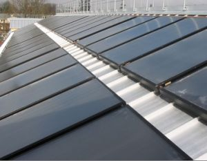 Tinoxy Coating Flat Plate Panel Solar Thermal Collector pictures & photos