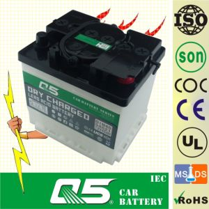 DIN35 12V35AH Professionally-Producing Lead Acid Dry Charged Car Battery for Starting pictures & photos