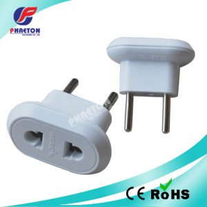 2 Pin Round to 2 Pin Power Adaptor Plug pictures & photos