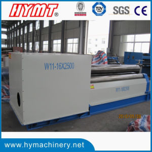 W11-12X3200 Motor Drive Type 3 Rollers Steel Plate Rolling Machine pictures & photos