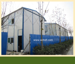 Prefabricated House for Glass Wool Wall Panel