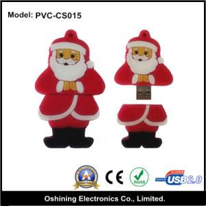 Santa Claus USB Gift 1G, 2G, 4G, 8G, 16G (PVC-CS015)