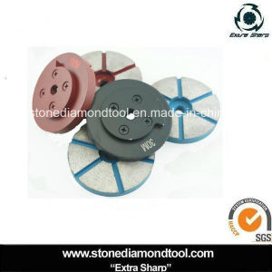 125mm Snail Lock Diamond Segment Granite Metal Grinding Pad pictures & photos