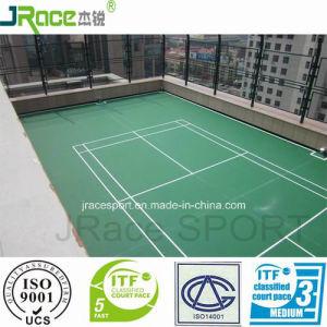 Reliable Performance Rubber Badminton Court Floor pictures & photos