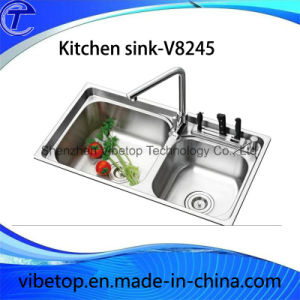Professional Manufacturer Stainless Steel Kitchen Sink (KS8445) pictures & photos