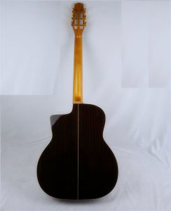Archtop Solid Cedar Vintage Acoustic Maccaferri Gypsy Guitar pictures & photos