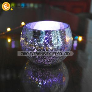 Decorative Fashion Mosaic Egg Shaped Candle Holder pictures & photos
