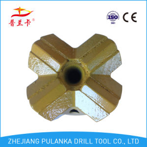 T38 76mm Thread Cross Type Rock Drill Bit pictures & photos