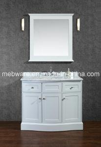 "42"" Single-Sink Solid Wood Bathroom Vanity Set pictures & photos"