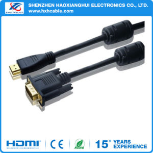 Factory Price 15pin Male to Male VGA Cable for Computer pictures & photos