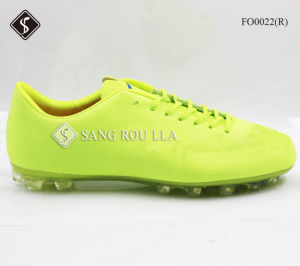 Athletic Men Football Boots Sports Shoes Soccer Shoes pictures & photos