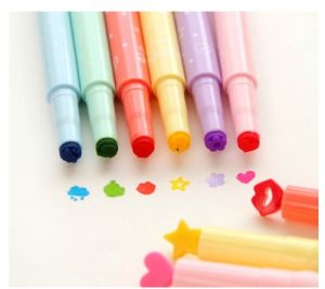 Candy Color Fluorescent Pen, Multi Marker Pen Gifts