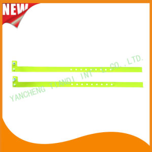 Hospital Plastic ID Wristband Bracelet Bands with Tail (8060-14) pictures & photos