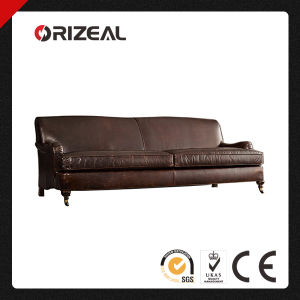 Orizeal Living Room Design Genuine Leather Sofa (OZ-LS-2003) pictures & photos