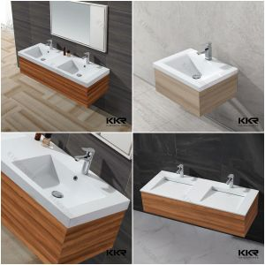 Artifical Stone Solid Surface Vanity Counter Wash Sink
