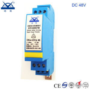 Intrinsic Safety Type Explosion-Proof DC 24V 48V Signal Voltage Protector pictures & photos