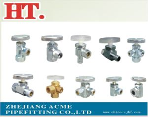 90 Degree Chorme Plating Brass Angle Valve pictures & photos