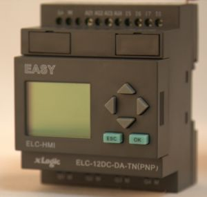 Programmable Relay for Intelligent Control (ELC-12DC-DA-TN-HMI) pictures & photos